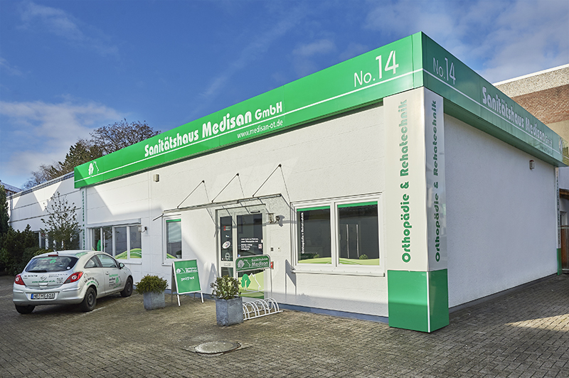 Sanitätshaus in Bremen, wo man Bandagen kaufen kann