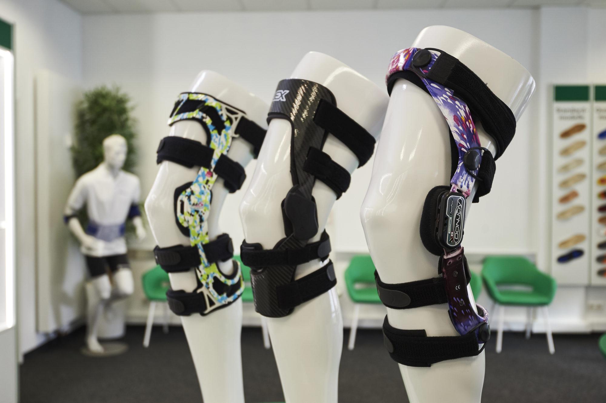 Manschetten für die Knie als ein Beispiel für Sport Orthopädie-Technik in Bremen beim Sanitätshaus Medisan GmbH